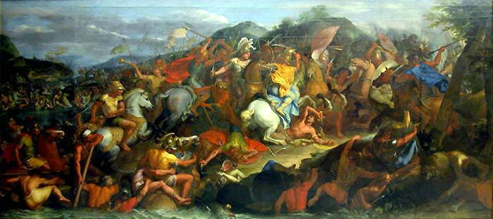 alexander the great battle at granicus Before beginning his life of alexander, plutarch warns us that he is not concerned with the 'great exploits and battles' of the macedonian king but rather 'those details which illuminate the workings of the soul.