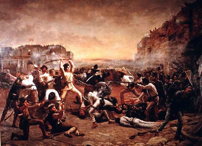 Picture Information: Battle of the Alamo in San Antonio ...